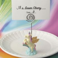 Unicorn Place Card Holder